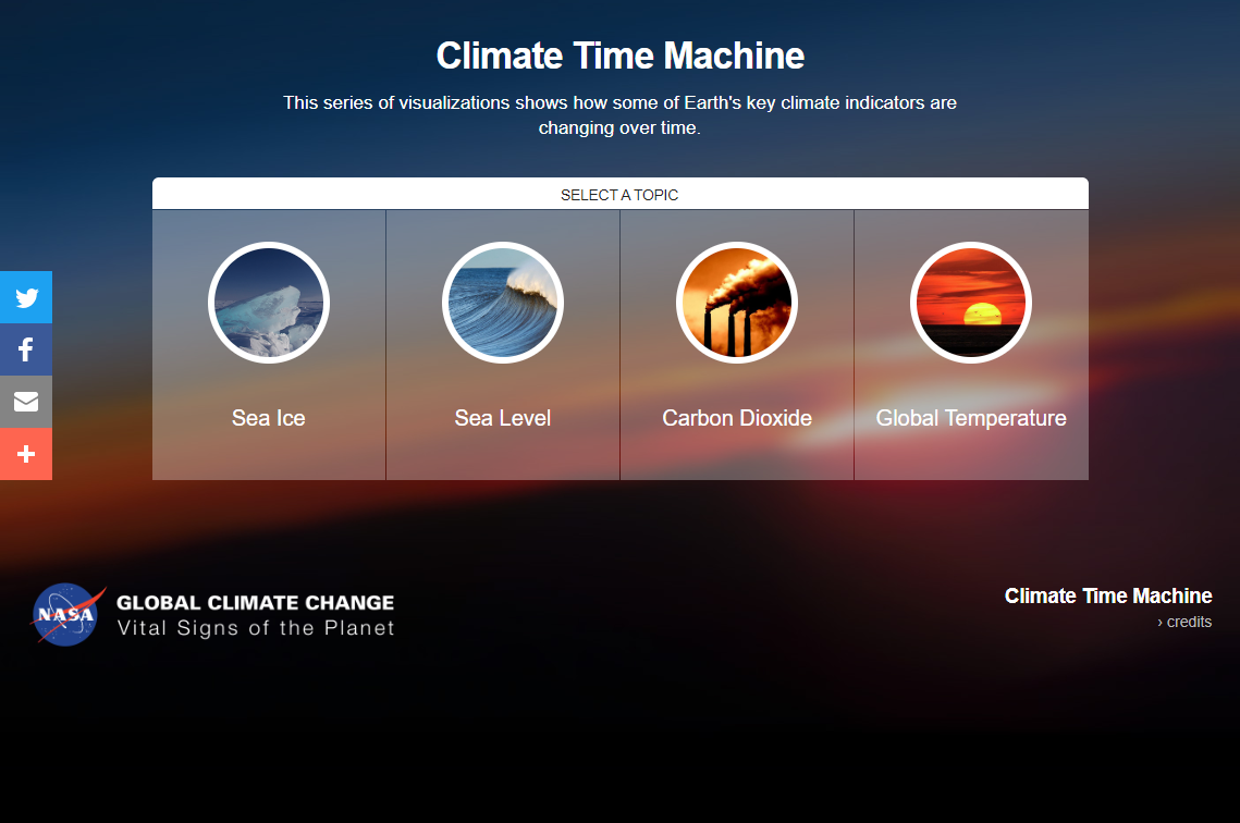 Climate Time Machine